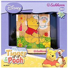 Simba My Friends Tiger and Pooh Wooden Matching Blocks