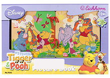 Simba My Friends Tiger and Pooh Wooden Picture Book- 12 Pages