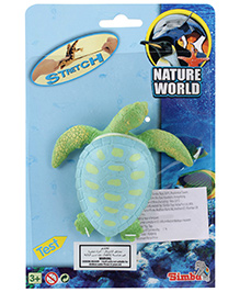 Simba Nature World Ocean Long Stretchable Toy Blue- Tortoise