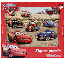 Simba Cars Wooden Puzzle- 9 Pieces