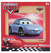 Simba Cars Wooden Puzzle Blue- 12 Pieces