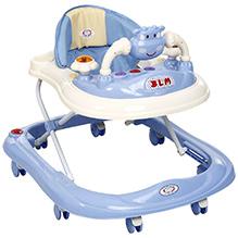 Musical Baby Walker Rabbit Design - Blue