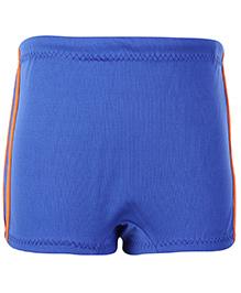 Veloz Blue Plain Swimming Trunks