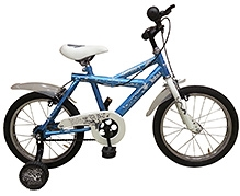 Tobu Ghost Blue Bicycle - 16 inch