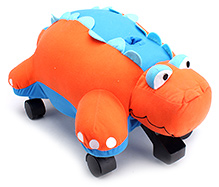 Little Tikes Pillow Racer Dino Manual Push Ride On - Orange