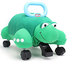 Little Tikes Pillow Racer Turtle Manual Push Ride On - Green