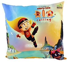Chhota Bheem Mighty Raju Rio Calling Cushion