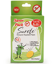 Surete Mosquito Repellent Patch - 45 Plus 5 Patches