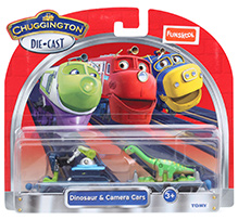 Chugginton Dinosaur and Camera Car Playset