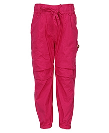 Cool Quotient Cotton Cargo Pant Fuchsia