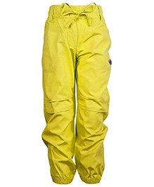 Cool Quotient Cotton Cargo Pant Yellow
