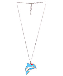 Creation Wildrepublic  Necklace And Pendant Dolphin - Blue