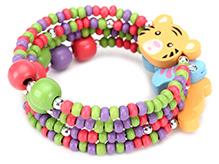 Creation Wildrepublic Bracelet Tiger Applique - Multi Color