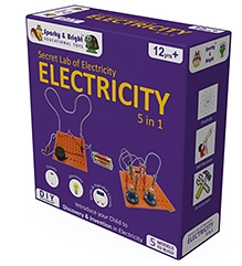 Sparky & Bright Secret Lab of Electricity 5 In 1 Kit