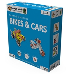 Sparky & Bright Secret Lab Of Machines Bikes And Cars