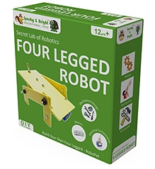 Sparky & Bright Secret Lab of Robotics Four Legged Robot