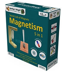 Sparky & Bright Secret Lab of Magnets - Magnetism 5 In 1 Kit