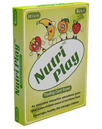 Sparky & Bright Card Trading Games - Nutri Play