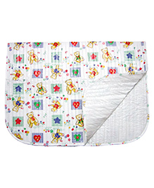 Little's Baby Diaper Changing Mat Animal Print - Multi Color