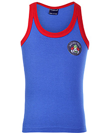 Taeko Sleeveless Vest Blue - Racing Speed Patch