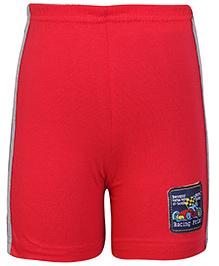 Taeko Bermuda Shorts - Red