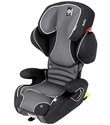 Kiddy Cruiser Fix Pro Car Seat - Grey