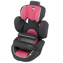 Kiddy World Plus Car Seat - Pink and Black