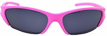 Angel Glitter Peppy Pink Kids Sunglasses