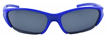 Angel Glitter Kids Sunglasses - Royal Blue