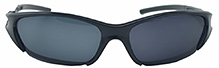 Angel Glitter Kids Sunglasses - Black