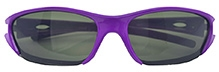 Angel Glitter Kids Sunglasses - Viloet