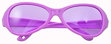 Angel Glitter Kids Sunglasses - Royal Purple