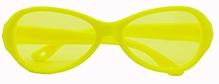 Angel Glitter Kids Sunglasses - Sunshine Yellow