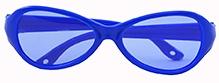 Angel Glitter Kids Sunglasses - Royal Blue