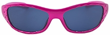 Angel Glitter Kids Sunglasses - Perky Pink
