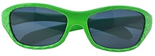 Angel Glitter Kids Sunglasses - Green