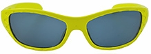 Angel Glitter Kids Sunglasses - Yellow