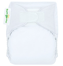 Bum Genius Newborn Cloth Diaper White