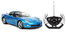Rastar Chevrolet C6 GS Remote Controlled Car - Blue