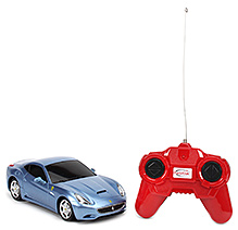 Rastar Ferrari California Remote Controlled Car - Blue