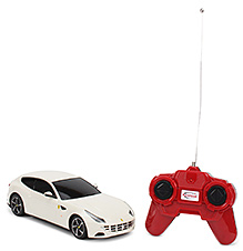 Rastar Ferrari FF Remote Controlled Car - White