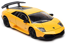 Rastar Murcielago LP670 4SV Scale Model Yellow