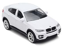 Rastar BMW X6 DC Scale Model White