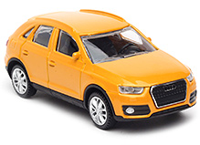 Rastar Audi Q3 Scale Model - Yellow