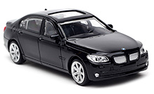 Rastar BMW 7 Series Scale Model - Black