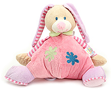 Carters Soft Toy Animal Shape Rattle with Music - Height 26.5 cm