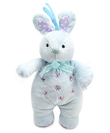 Carters Soft Toy Bunny Shape Rattle with Music - Height 31.5 cm