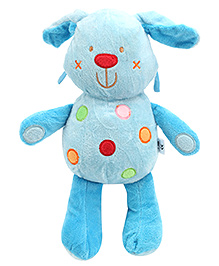 Carters Soft Toy Teddy Shape Rattle with Music - Height 35.5 cm