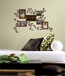 RoomMates Family Frames Wall Decals - 50 Wall Decals