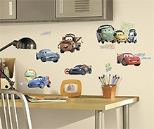 RoomMates Disney Cars 2 Wall Stickers - 26 Wall Decals